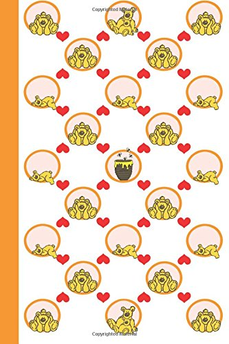Journal: Honeybears 6x9 - LINED JOURNAL - Journal with lined pages - (Diary, Notebook) (Baby Animals Lined Journal Series)