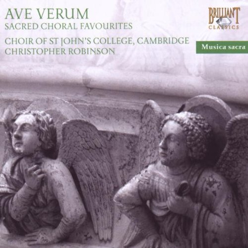 Christopher Robinson / Choir Of St. Johns College Ave Verum-Sacred Choral Favourites Other Choral -