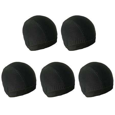 Lurrose 5pcs Gorras de Peluca Gorras de Tela elástica Gorras de ...