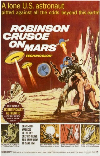 Price comparison product image Robinson Crusoe on Mars 11 x 17 Movie Poster - Style A