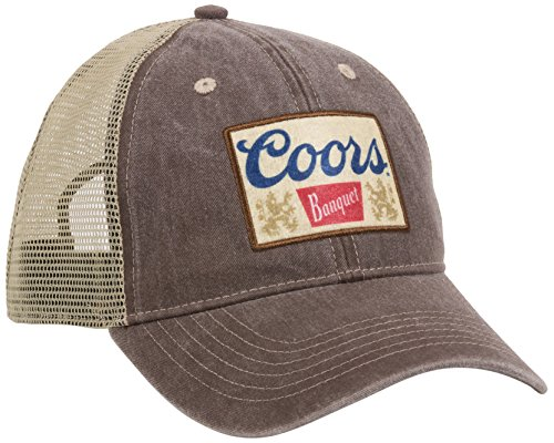 Outdoor Cap Unisex-Adult Coors Casual Mesh Back Cap, Brown/Khaki, Adult
