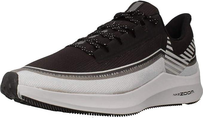 Nike Zoom Winflo 6 Shield, Zapatillas de Running para Hombre, Negro (Black/Reflecting Silver/Wolf Grey/Mtlc Platinum 001), 40 EU: Amazon.es: Zapatos y complementos