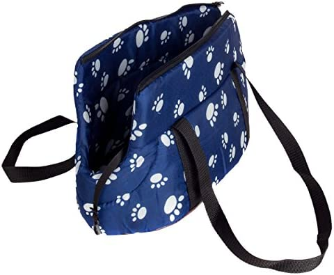 CueCue Pet s Ultra Padded Paw Print Pet Carrier Suitable for Small to Medium Sized Dogs , Cats , Rabbits , Pet s