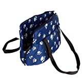 CueCue Pet's Ultra Padded Paw Print Pet Carrier Suitable for Medium Sized Dogs, Cats, Rabbits, Pet's