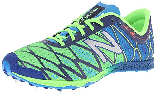 New Balance Mens MXC900v2 Spike Shoe, Verde/Azul, 37.5 D(M) EU/4.5 D(M) UK