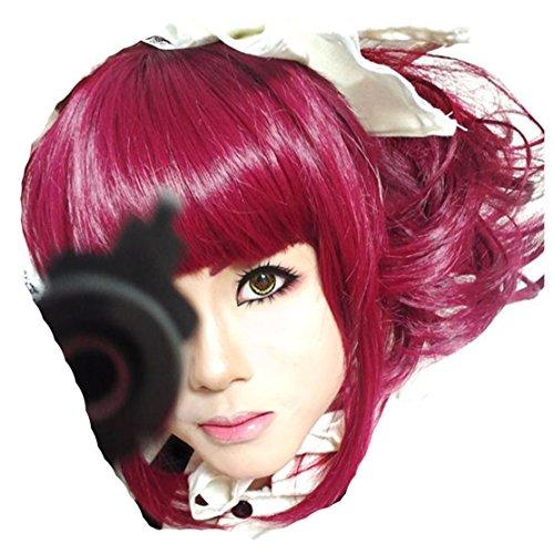 Mey Rin Cosplay Costume (Black Butler Mey-Rin cosplay costume wig)