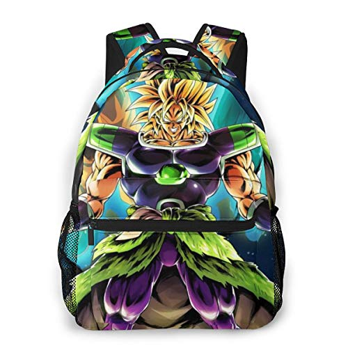 Super Saiyan God Dragon Ball Goku Daypack With Side Pockets, Travel And Sport Backpack Rucksack Large Capacity College School Bookbag Anti-Theft Multipurpose for Girls Boys