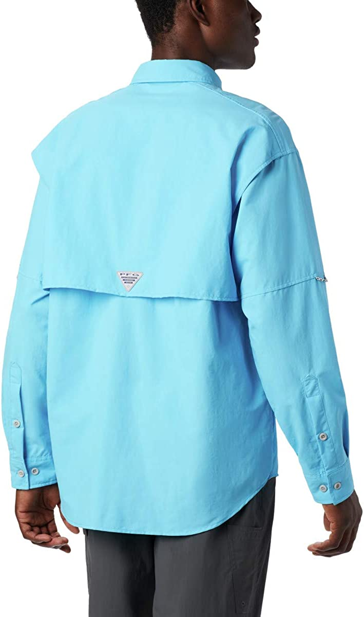 Columbia Mens PFG Bahama II Long Sleeve Shirt Breathable with UV Protection