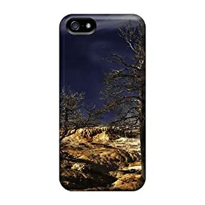 Hot Style DtCOESW7954rQgYG Protective For Iphone5/5s(dream Spring The Trees)