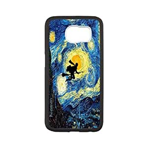 Custom Harry Potter Cover Case, Custom Hard Back Phone Case for SamSung Galaxy S6 Harry Potter