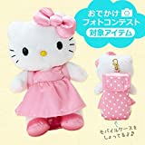 With Hello Kitty mobile case reach Doll Mascot