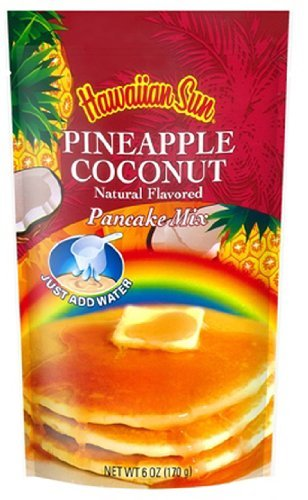 Hawaiian Pineapple Coconut Pancake Mix From Hawaii by Hawaiian Sun