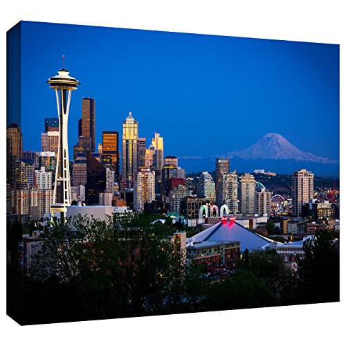 ArtWall Seattle Rainier Gallery Wrapped Artwork product image
