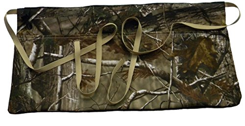 - Waist Work Apron with Pockets; Heavyweight Cotton Duck Fabric; Unisex Half Aprons for Men or Women, 23 x 11 inch Designed tough for efficiency from the factory floor to the hobby table (Forest Camo)