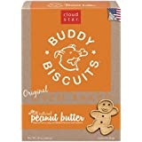 Cloud Star Buddy Biscuits Dog Treats, Peanut Butter Madness, 16-Ounce Boxes (Pack of 6)