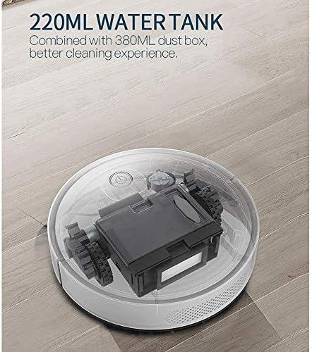 Z-Color Robot Aspirateur, Navigation de précision, 1500Pa Aspiration Forte, Plus Propre à la cartographie, Idéal for Poils d\'animaux, Tapis à Poils Courts et Plus Types étage