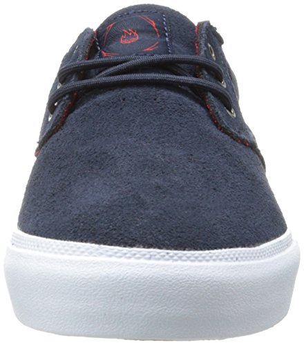 Lakai Mj, Men's Skateboarding Shoes Midnight Suede Spitfire