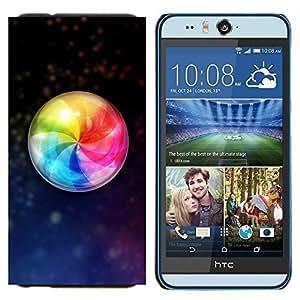EJOOY---Cubierta de la caja de protección para la piel dura ** HTC Desire Eye M910x ** --Diseño de la bola de color