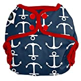 Imagine Baby Products Snap Diaper Cover, Overboard