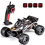 HOSIM Version RC Truck 9123, 1/12 Scale Radio Controlled Electric Car - 38km/h Offroad 2.4Ghz 2WD Radio Controlled Truggy - Best Gift All Car Enthusiast (Orange)