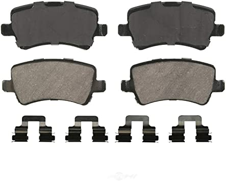 2008 2009 2010 For Land Rover LR2 Front and Rear Ceramic Brake Pads