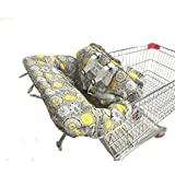 2 in 1 Shopping Cart and High Chair Cover for Baby and...