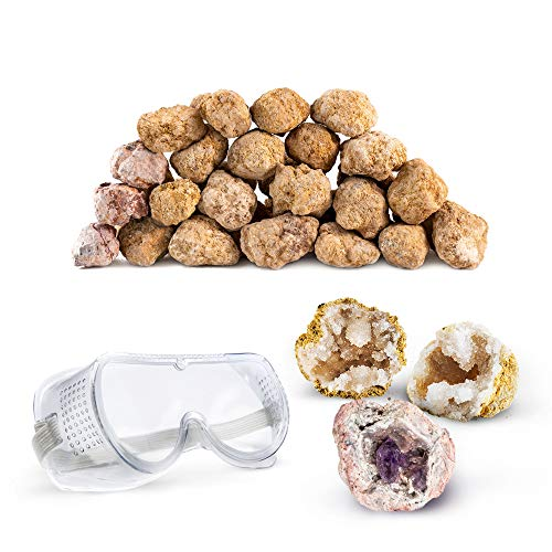 Geodes Kit (Discover with Dr. Cool Break Your Own 25 Large (2