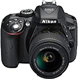 Nikon D5300 24.2MP Digital SLR Camera (Black) with AF-P 18-55mm f/ 3.5-5.6g VR Kit Lens,...