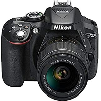 Nikon D5300 24.2MP Digital SLR Camera (Black) with AF-P 18-55mm f/ 3.5-5.6g VR Kit Lens, 16GB Card and Camera Bag 6