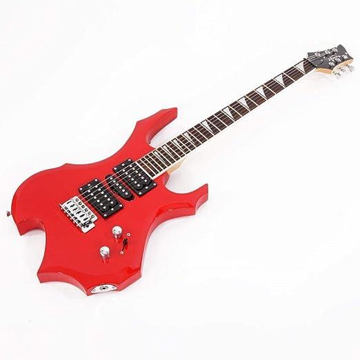 Coaste Glarry Guitarra eléctrica Profesional Tipo Llama, Bolsa de ...