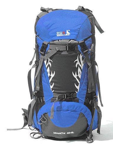 XH@G 45+5 L Rucksack Camping & Wandern / Klettern / Legere Sport / Reisen OutdoorWasserdicht / Schnell abtrocknend / Regendicht / Staubdicht /