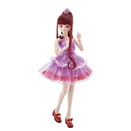 ABBYFRANK 60cm Large BJD Ball Jointed Doll Toys Cosplay Rapunzel Dress With Wig Clothes Shoes For  sc 1 st  Amazon.com & Amazon.com: ABBYFRANK 60cm Large BJD Ball Jointed Doll Toys Cosplay ...