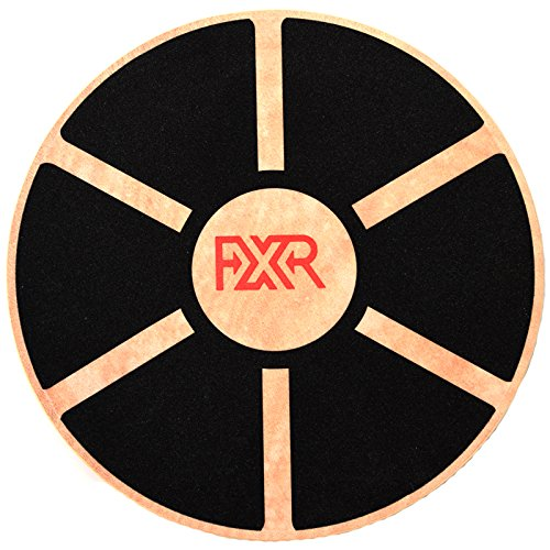 FXR Sports Wooden Wobble Balance Board Rehabilitation