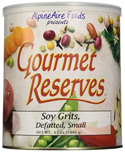 Alpine Aire Gourmet Reserves Small and Defatted Soy Grits (10-Can)