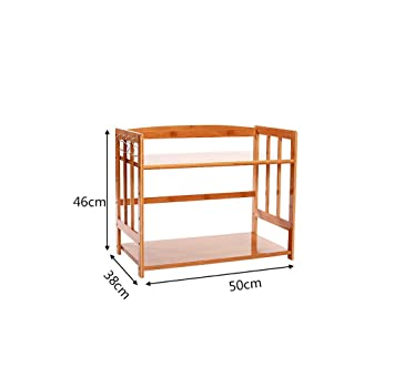 LBMcf Küche Lagerung und Organisation Küche Regal Mikrowelle Rack ...