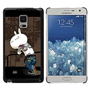 Impact Case Cover with Art Pattern Designs FOR Samsung Galaxy Mega 5.8 Cute Gangster Bunny Betty shop