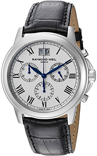 Raymond-Weil-Mens-4476-STC-00300-Analog-Display-Quartz-Black-Watch