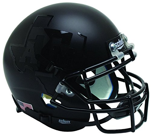 Schutt NCAA Texas A&M Aggies Mini Authentic XP Football Helmet, Black Alt. 3, Mini