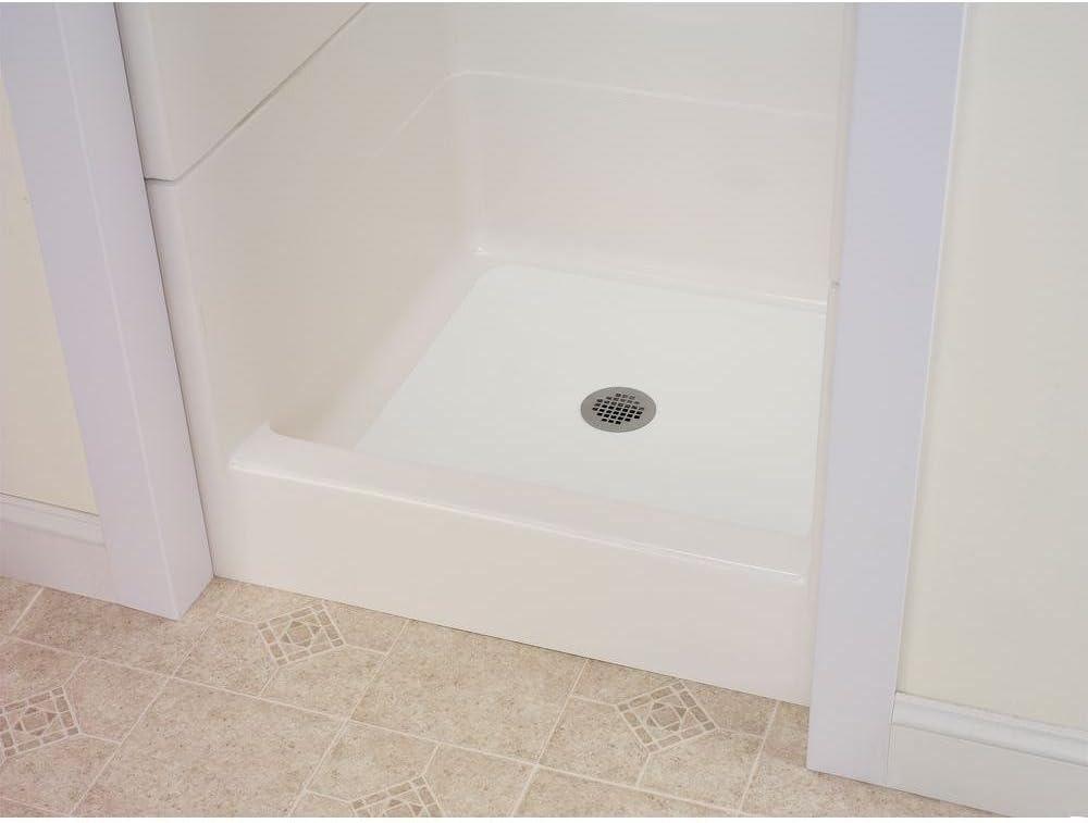 l bathtub floor repair inlay kit w x 40 in whiteshower base flexible 16 in