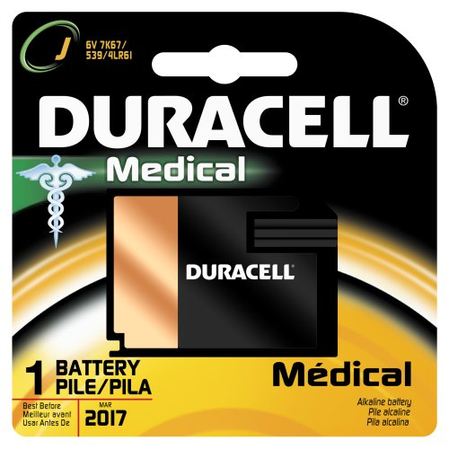 Duracell 7K67BPK Alkaline-Manganese Dioxide Battery, J Size, 6V (Case of 6) by Duracell (Image #1)