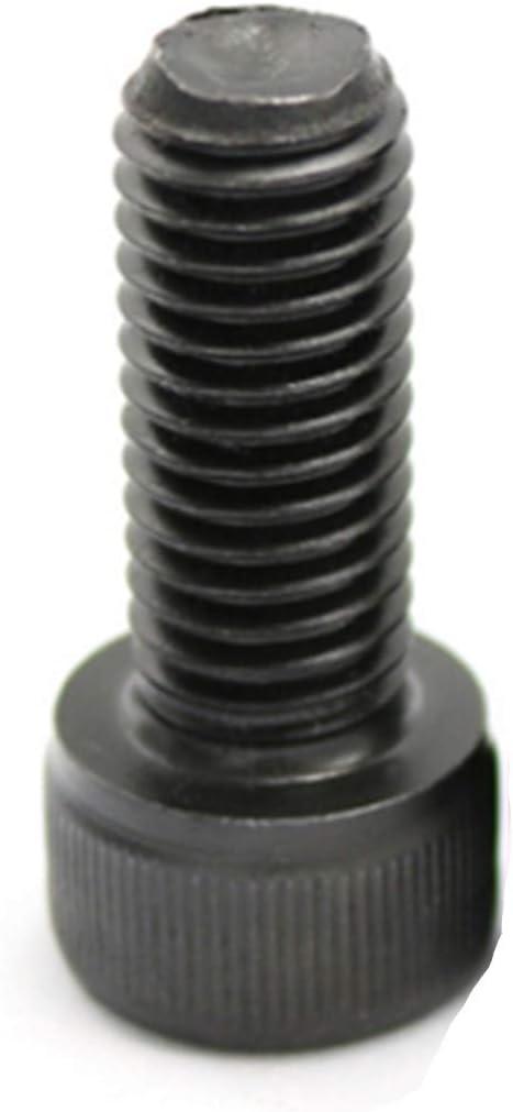 M2 x 4mm 12.9 Grade Alloy Steel Hex Socket Head Cap Screws Bolts Black 100pcs