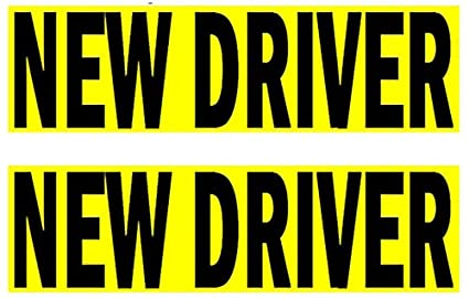 Amazoncom Premium 2 Pack New Driver Sticker Decal Sign For Rookie