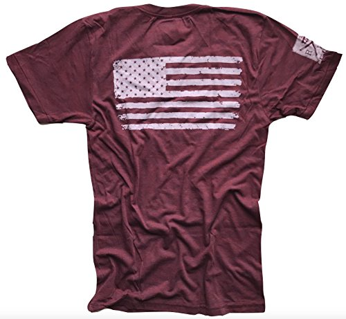 Red White Blue Apparel America Love Her Or Leave Her Patriotic T-Shirt Made In USA by Red White Blue Apparel Co. (Image #2)