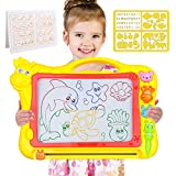 Magnetic Drawing Board, 12.8 Inch Drawing Area Colorful Magna Drawing Doodle Board for Kid Learning