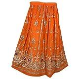 Womens Rayon Skirt Designer Spring Summer India Clothing