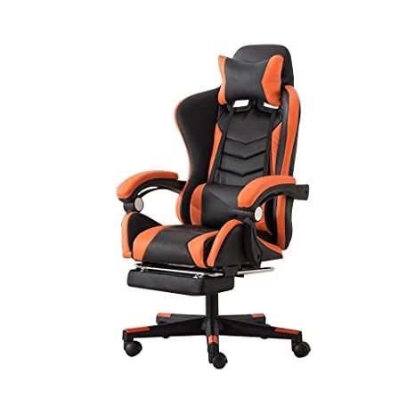 Amazon.com: Video Game Chair, Elevating Rotary Reclining ...