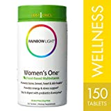 women multivitamin with iron - Rainbow Light - Women's One Multivitamin, 150 Count, One-a-Day Nutritional Support