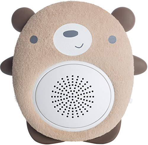 SoundBub, White Noise Machine and Bluetooth Speaker | Portable and Rechargeable On-the-Go Infant Shusher & Baby Sleep Aid Sound Soother by WavHello – Benji the Bear, ()