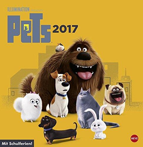 Pets Posterkalender quadratisch - Kalender 2017