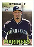 2016 Topps Heritage High Number #559 Edwin Diaz Seattle Mariners Baseball Rookie Card-MINT